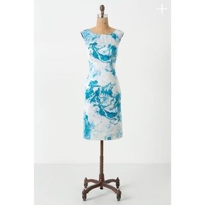 NWT Anthropologie Maeve Marbled Waters Dress